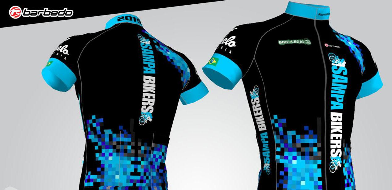 Camisa oficial - Sampa Bikers 149c9db2a7574