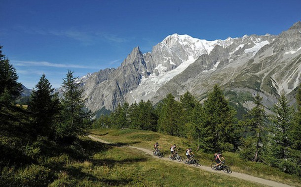 MTB nos Alpes Italianos