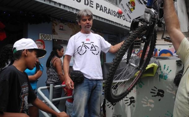 Bike Amigo doa 32 bicicletas na comunidade de Paraisópolis