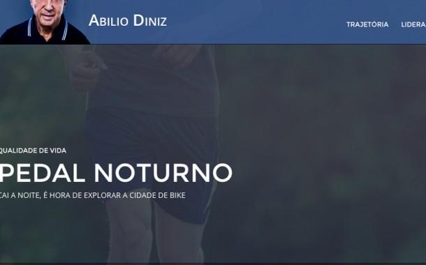 Blog do Abilio Diniz – Atividade Física – Pedal Noturno – 19/04/2012