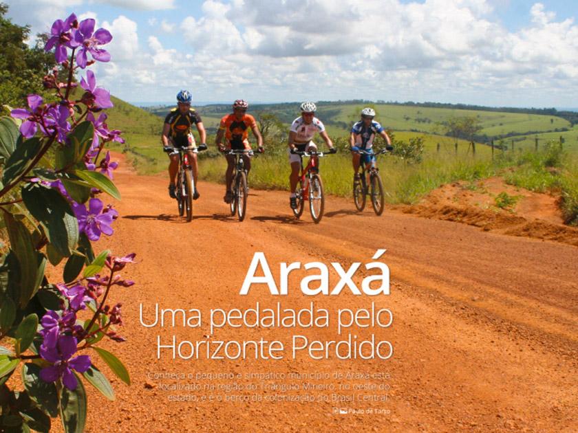 Revista Bicicleta – Roteiro – Araxá