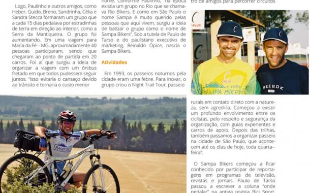 Revista Bicicleta nº 34 - História – 20 anos de Sampa Bikers