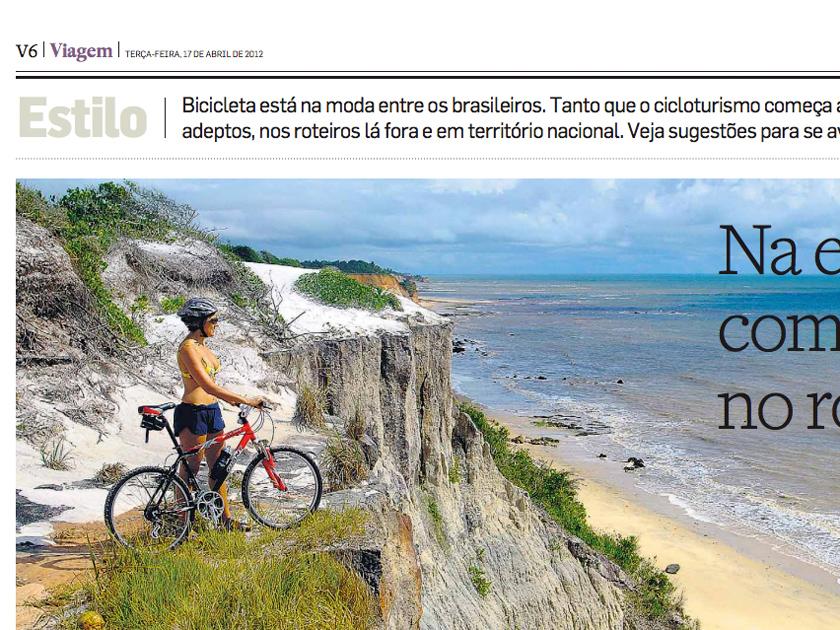 Jornal Estado de São Paulo – Caderno viagem