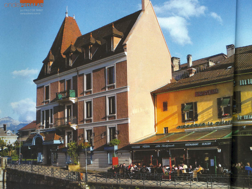 Revista Bike Action – onde pedalar: Annecy