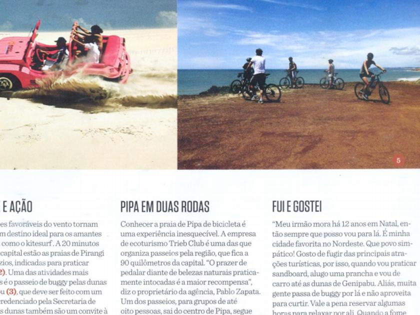 Revista Gol – Pipa em duas Rodas