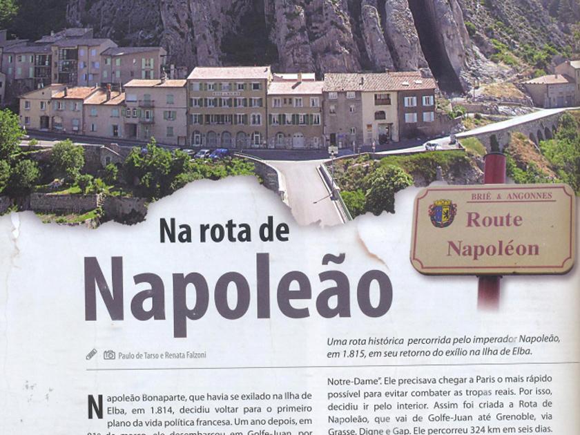 Revista Bicicleta nº 13 – Roteiro – Rota de Napoleão