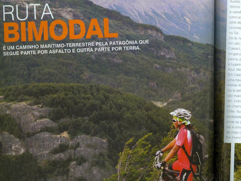 Revista Bike Action – Onde Pedalar – Ruta Bimodal