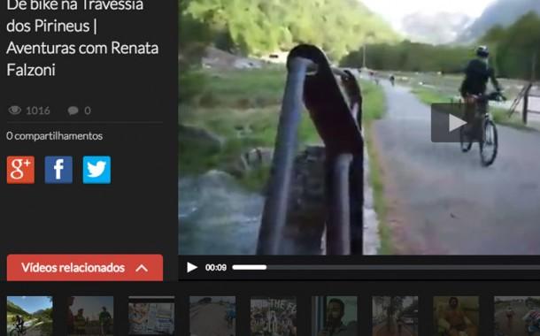 ESPN BRASIL – AVENTURAS COM RENATA FALZONI – De Bike na Travessia dos Pirineus – parte 1