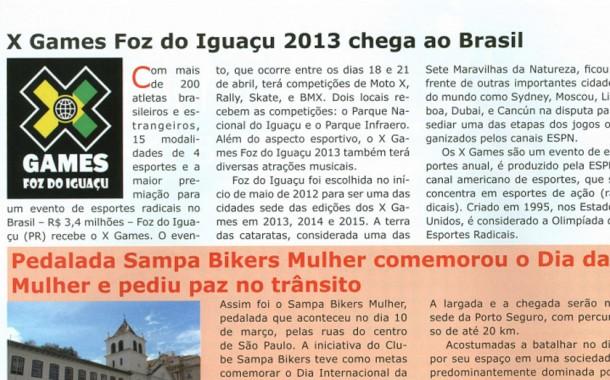Revista Bicycle – Acontece – Sampa Bikers Mulher