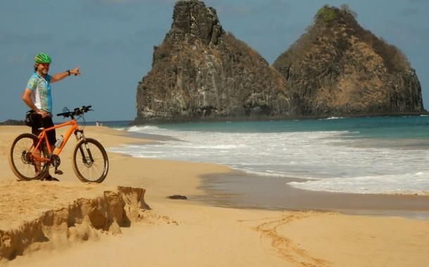 Fernando de Noronha também é bom para pedalar !