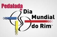 Pedalada comemora o dia mundial do rim