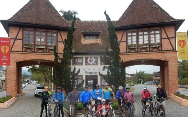 Cicloturismo no Vale Europeu - 4º dia: Timbó a Pomerode - 54 km