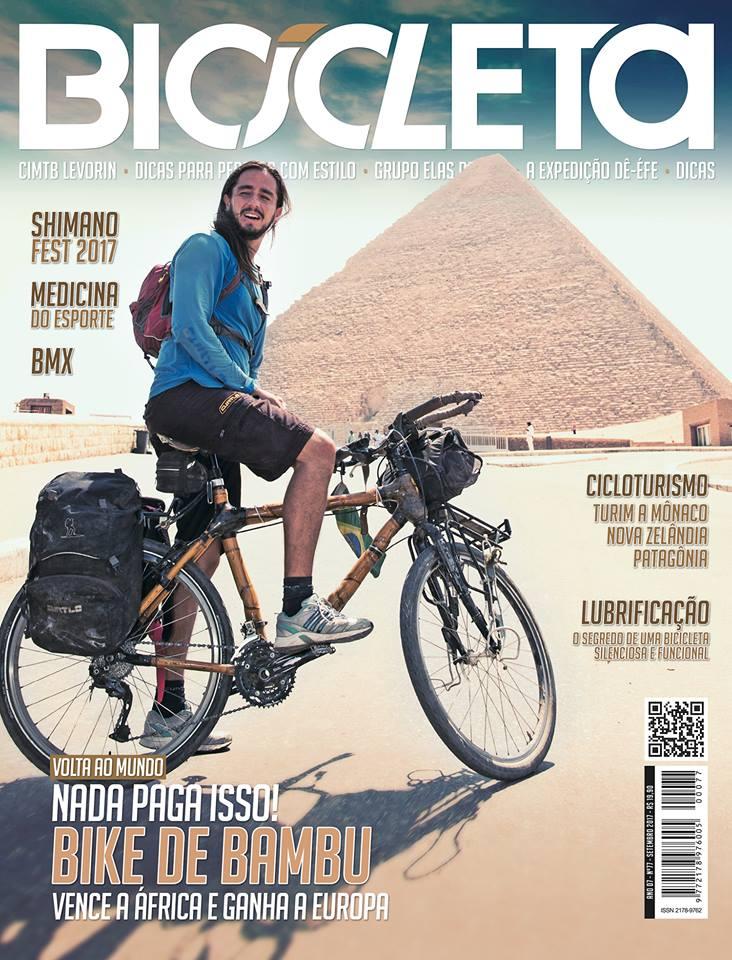Revista Bicicleta Setembro 2017 - pg 38 a 42 - Patagônia dos Vales e Vulcões
