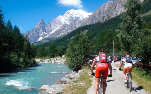MTB nos Alpes Italianos - Valle d'Aosta