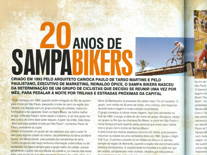 Revista Bike Action nº 159 – 20 anos de Sampa Bikers