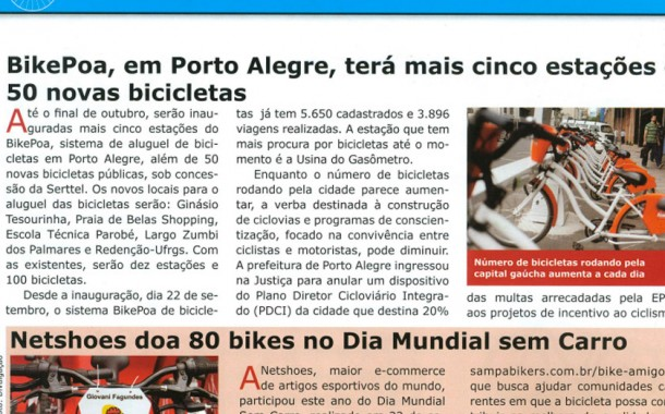 Revista Bicycle – Acontece – Bike Amigo