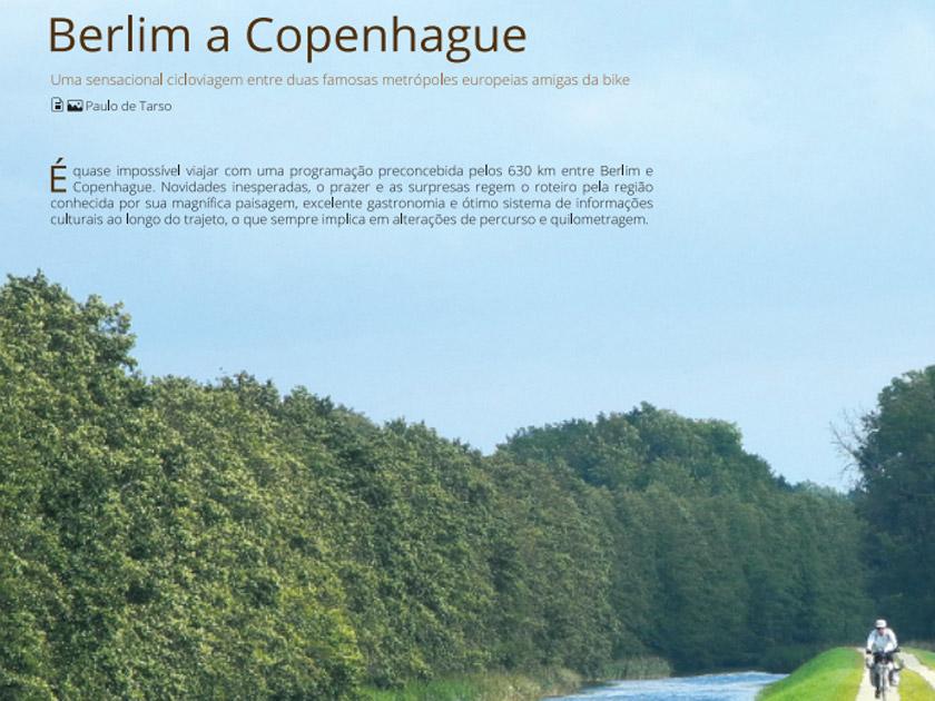 Revista Bicicleta – Roteiro Internacional – Berlim a Copenhague