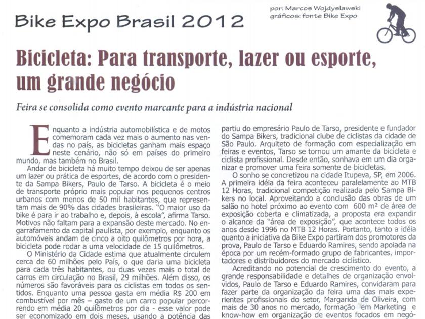 Revista BiciNews ed 43 – Bike Expo Brasil 2012