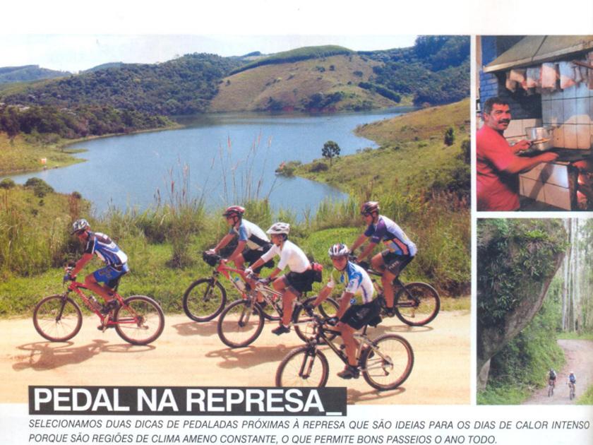 Revista Bike Action 140 – onde pedalar – Pedal na Represa