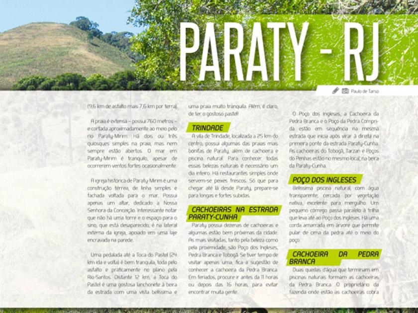 Revista Bicicleta – Roteiro – Paraty