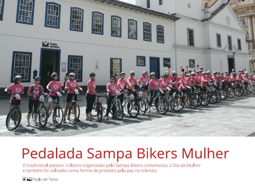 Revista Bicicleta – Mulher – Pedalada Sampa Bikers Mulher