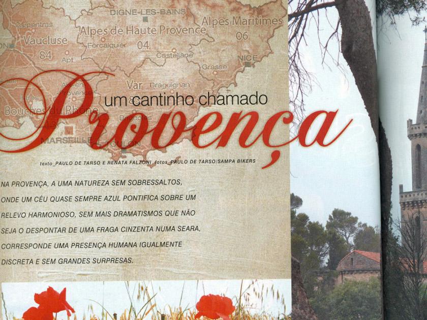 Revista Bike Action – Onde Pedalar – Provença