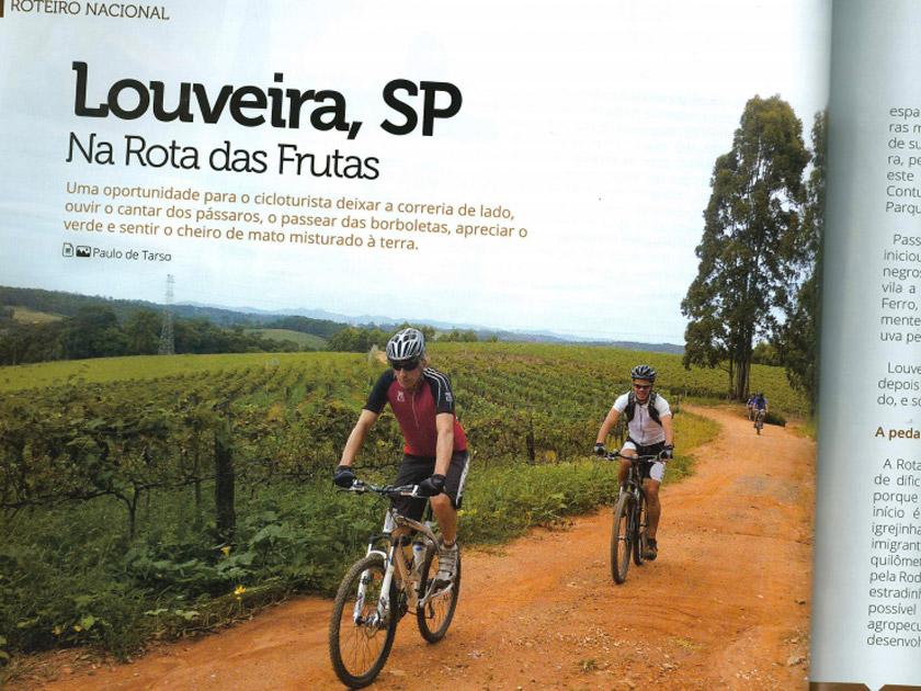 Revista Bicicleta – Roteiro – Louveira, na rota das frutas