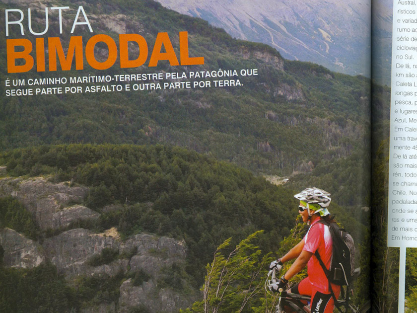 Revista Bike Action – Onde Pedalar – Ruta Bimodal