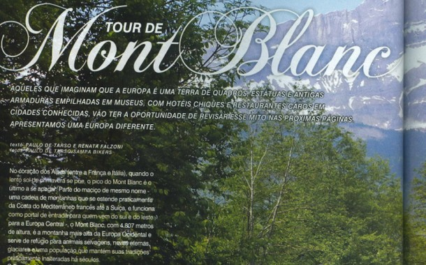 Revista Bike Action nº 157 – Setembro – Tour do Mont Blanc