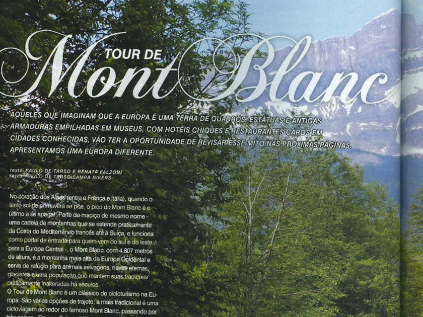 Revista Bike Action nº 157 – Setembro – Tour do Mont Blanc