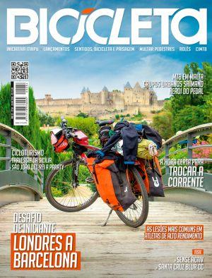Reportagem Cicloviagem: Revista Bicicleta Julho 2018 - Cicloturismo - Travessia da Sicília - Pg 54 a 57