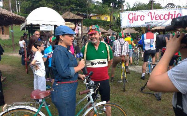 Reportagem Giro Vecchio na Tv Tem, programa Revista de Sábado
