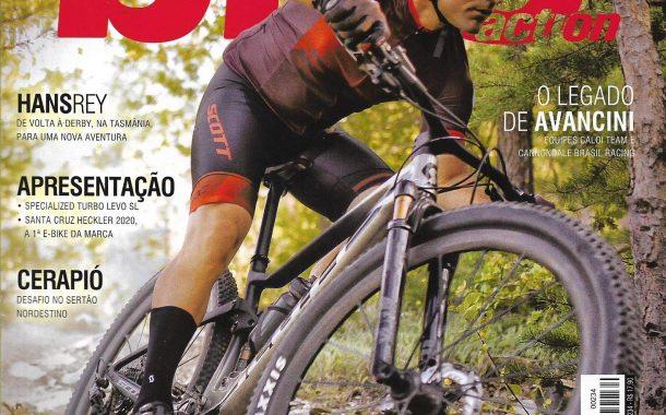 Reportagem Pedal MTB Vintage - Revista Bike Action nº 234 - pg 70 a 75